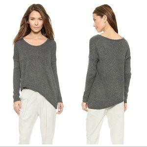 Helmut Lang Asymmetrical Hem Pullover Sweater